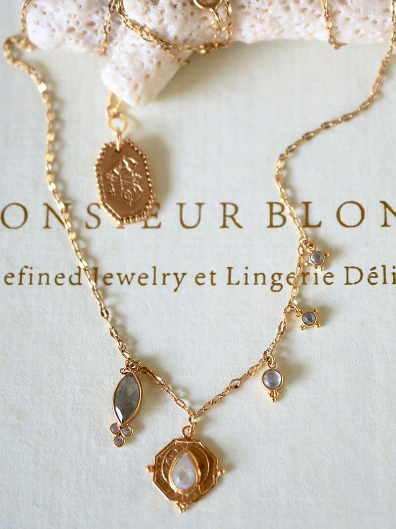 Monsieur Blonde | Love Always Necklace | Perlu