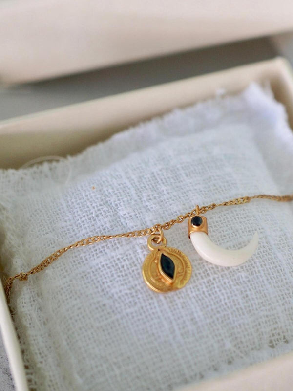 Monsieur Blonde | Sunday Necklace | Perlu