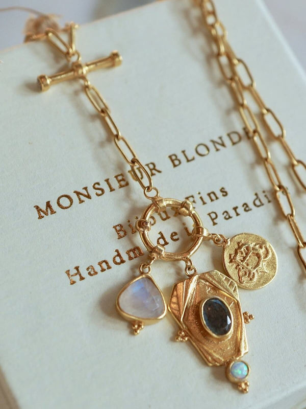 Monsieur Blonde | You & Me Necklace | Perlu