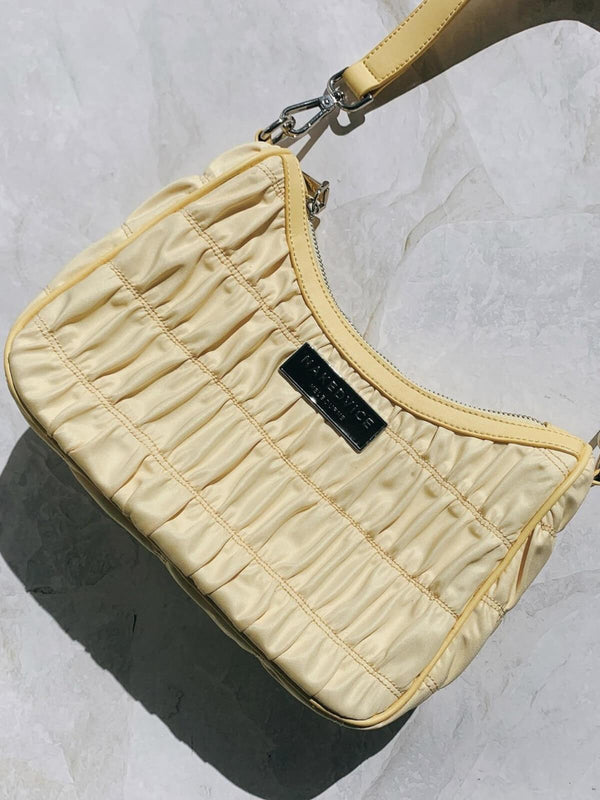 Naked Vice The Davis Short Strap Bag Lemon | Perlu