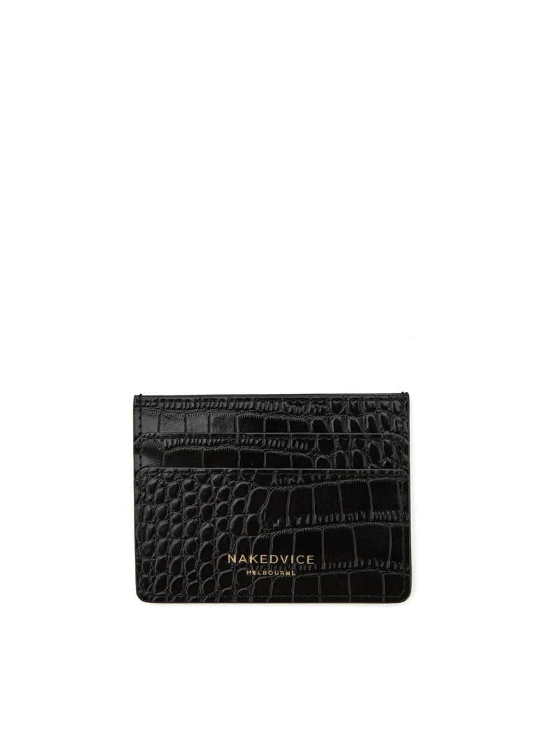 Naked Vice The Lola Croc Card Holder | Perlu