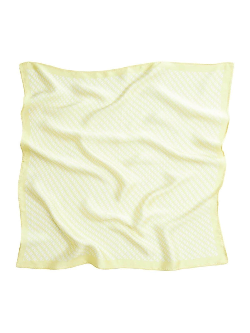Naked Vice The NV Silk Scarf Lemon | Perlu