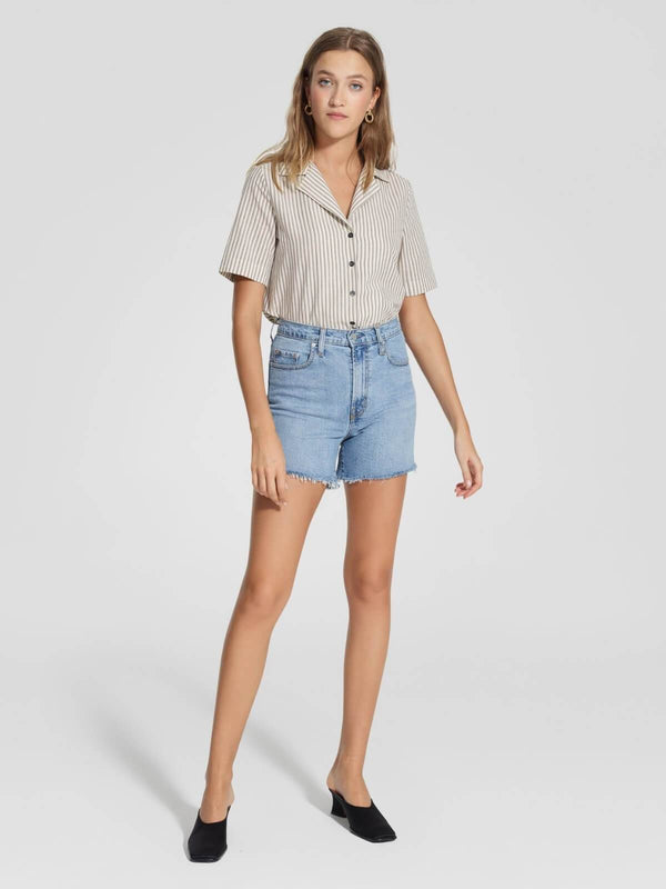 Nobody Denim Frankie Short Stretch Grazie | Perlu