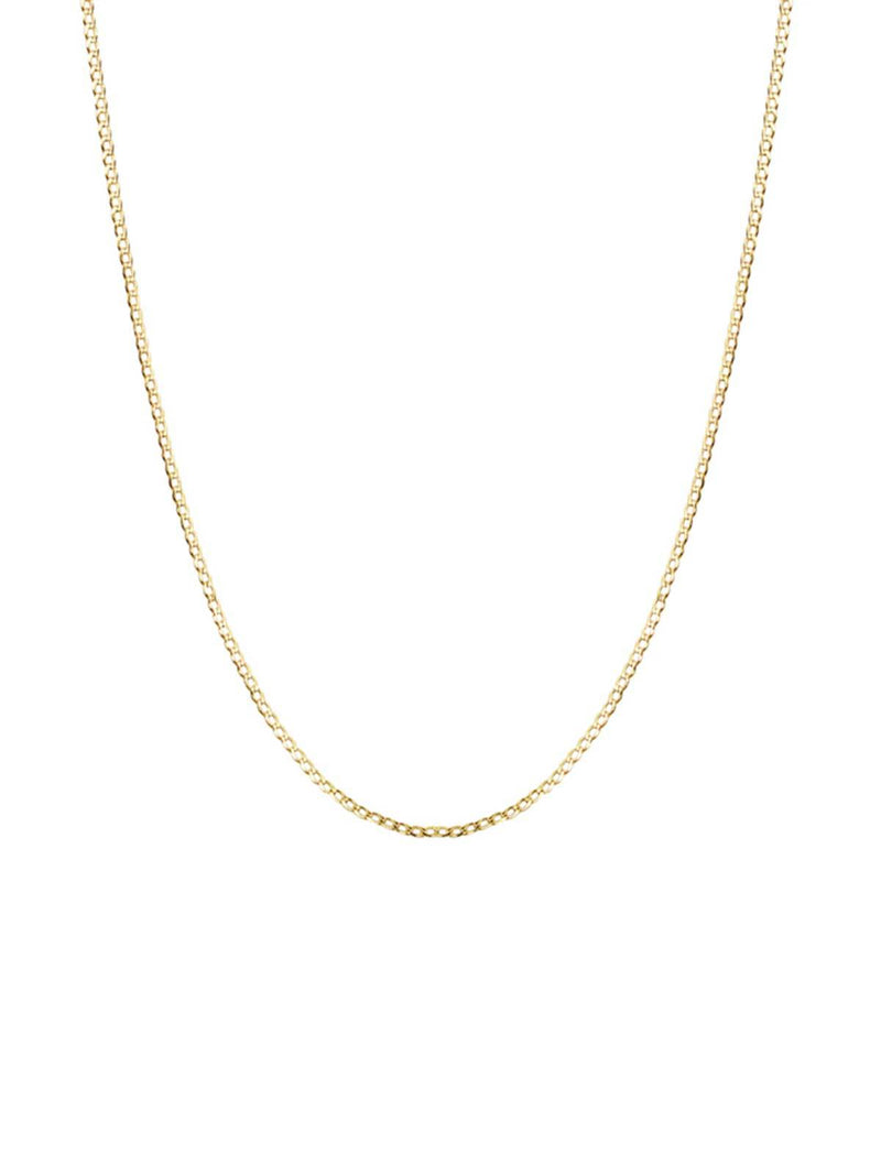 Brie Leon Novia Chain Necklace Gold | Perlu