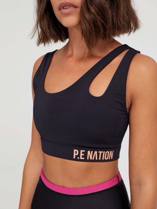 P.E Nation Basket Cut Sports Bra | Perlu