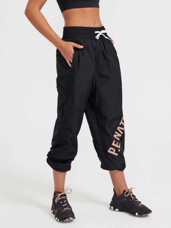 P.E Nation Box Out Pant Black | Perlu