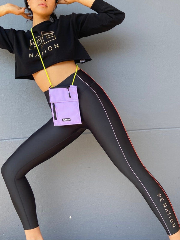 Collision Leggings - Black