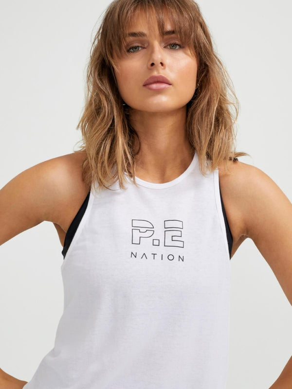 P.E Nation Endurance Tank white | Perlu