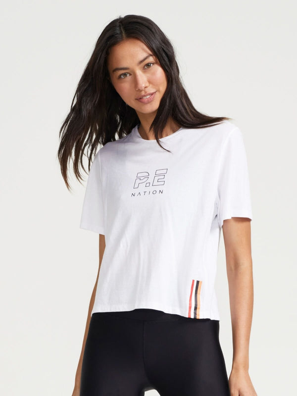 P.E Nation Endurance Tee Optic White | Perlu