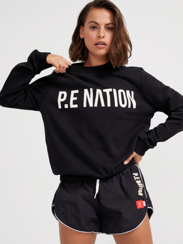 P.E Nation | Fortify Sweat - Black | Perlu