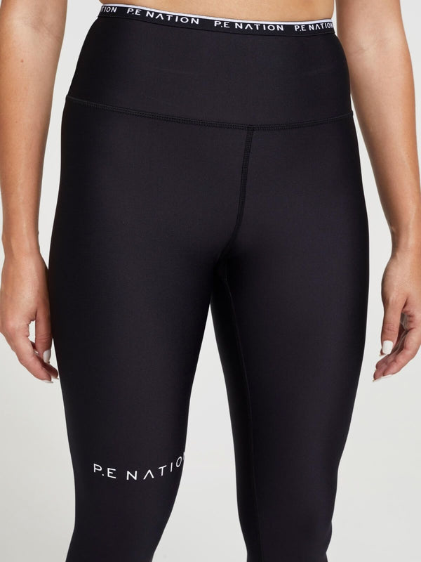 Power Play Leggings - Black Activewear P.E Nation