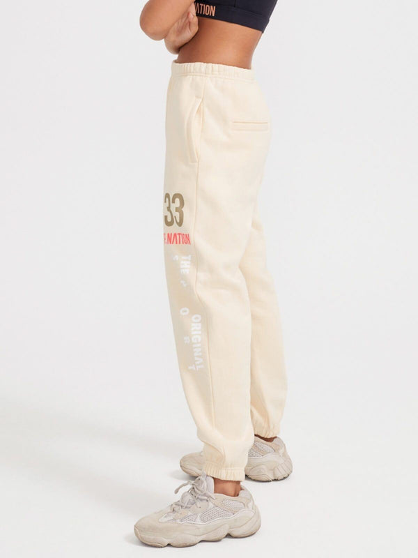 P.E Nation | Triple Double Pant - Shortbread | Perlu