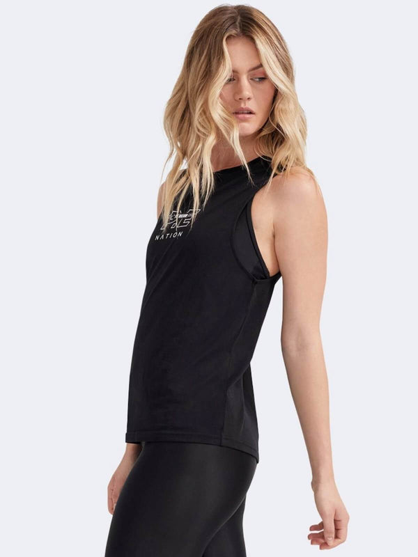 P.E Nation Twist Serve Tank Black | Perlu