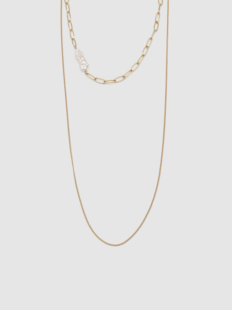 Jolie & Deen | Lilly Pearl Necklace | Perlu
