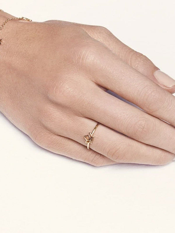 Gold Enlighten Ring