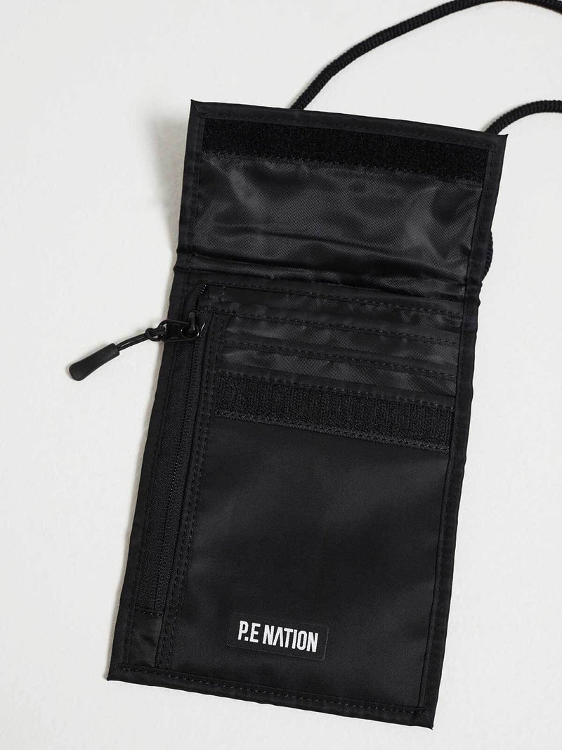 P.E Nation Qualifier Logo Pouch Black | Perlu