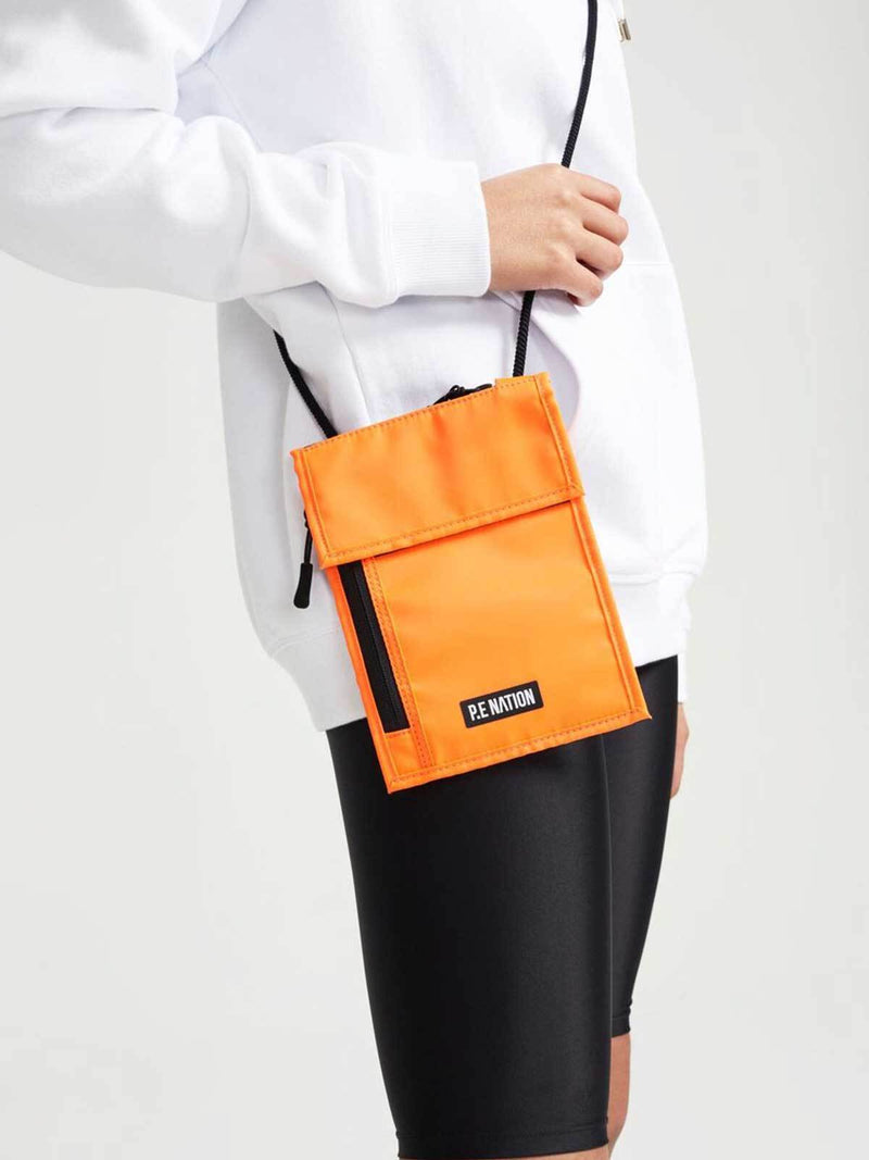 P.E Nation Qualifier Logo Pouch Orange | Perlu