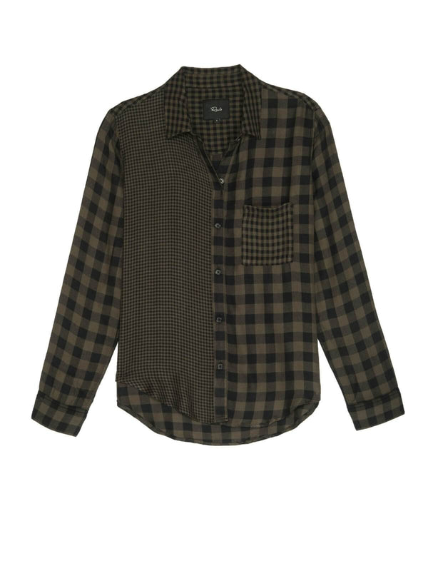 Rails | Hunter - Mixed Olive Plaid | Perlu