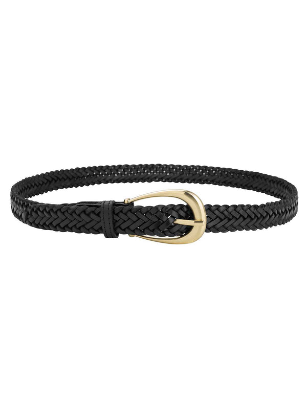 Sancia Annely Woven Belt Black | Perlu