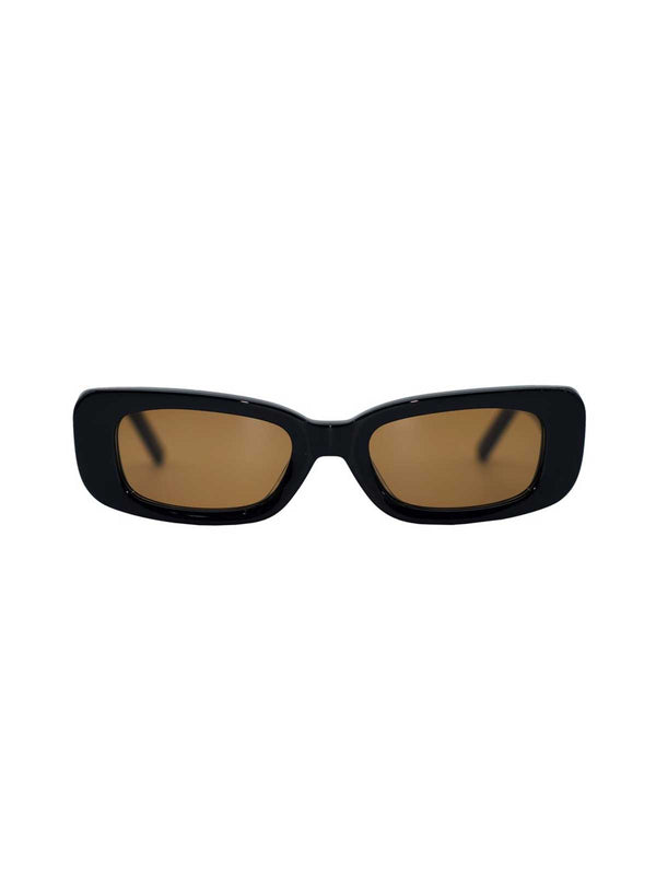 Shevoke Norm Sunglasses Black/Brown | Perlu