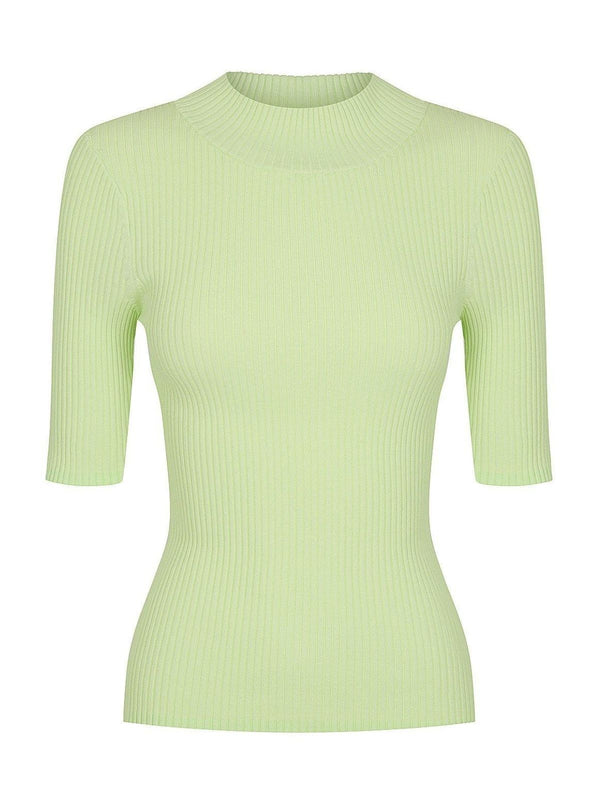 St Cloud Keystone Rib Knit Neon Mint | Perlu