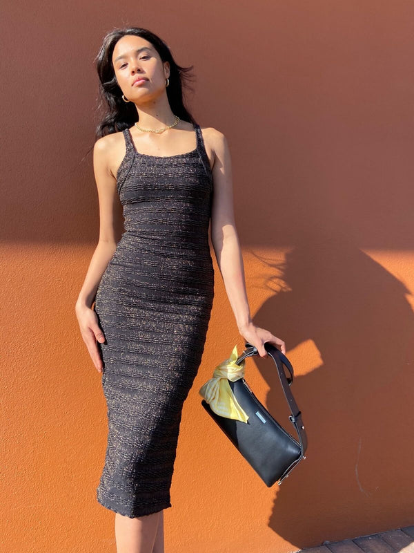 Nadine Stretch Midi Dress Dresses & Jumpsuits SUBOO