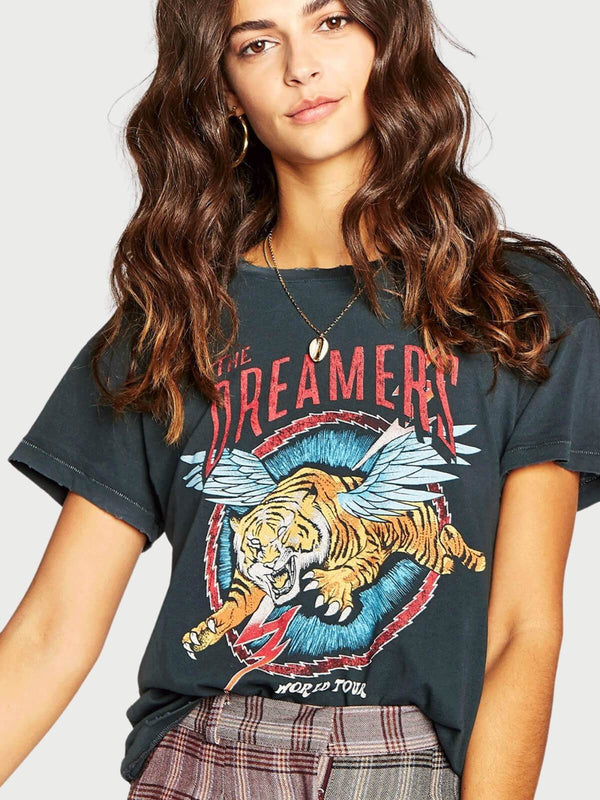 Daydreamer The Dreamers Tour Tee Vintage Black | Perlu