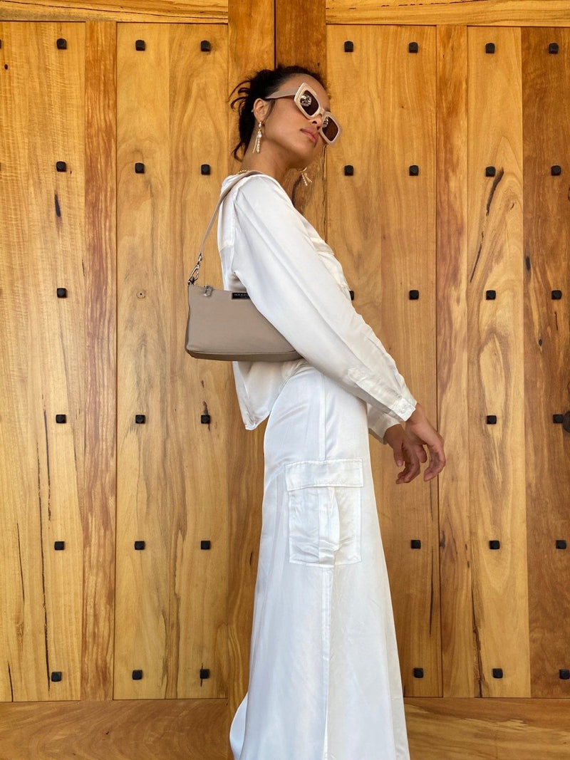 Third Form Lift Off Maxi Skirt White | Perlu