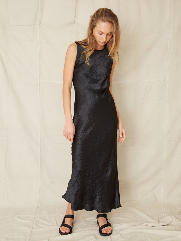Waters Edge Tank Maxi - Black Dresses & Jumpsuits Third Form