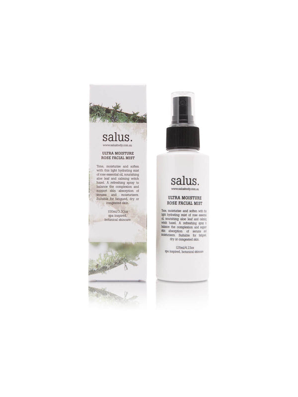 Salus | Ultra Moisture Rose Facial Mist - 100ml | Perlu