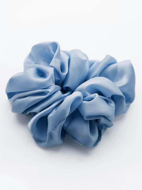 Valet Studio | Cindy Scrunchie - Blue | Perlu