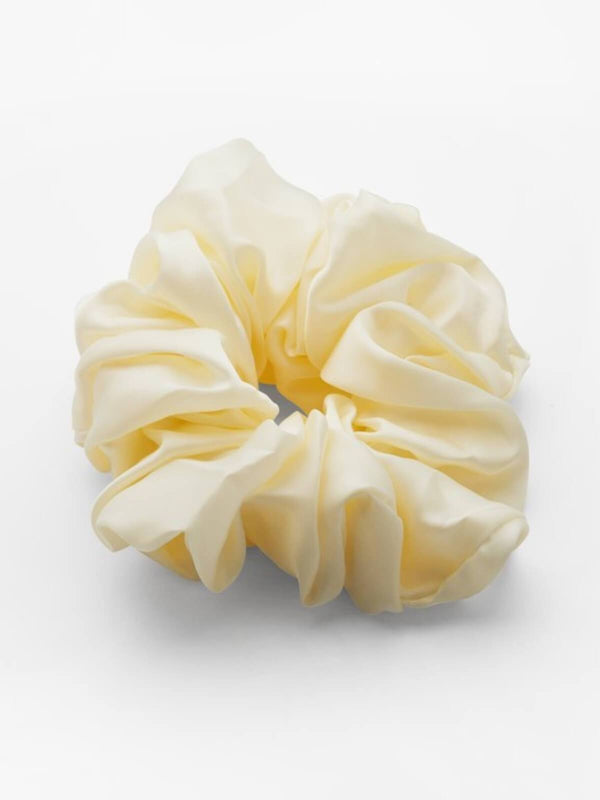 Valet Studio | Cindy Scrunchie - Yellow | Perlu