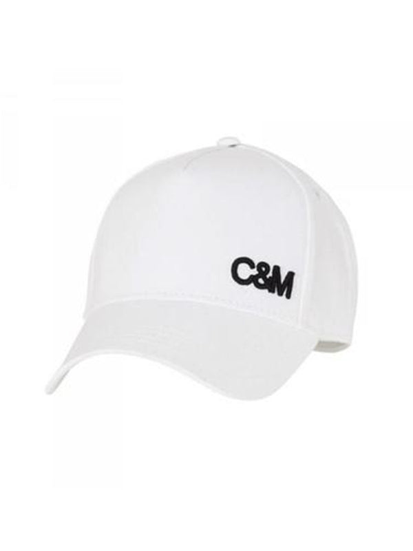 Camilla and Marc Black and White Logo Cap | Perlu