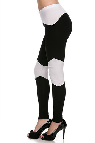 Cotton Block Leggings - Pole Beauties and Beasts
