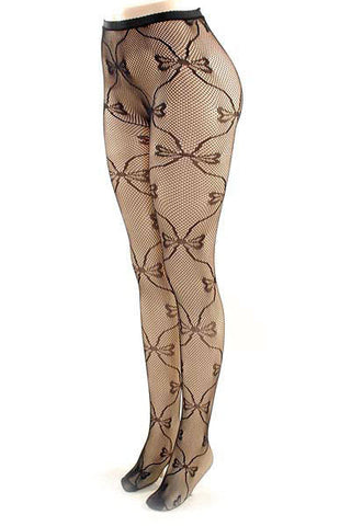 Butterfly Print Stockings - Pole Beauties and Beasts