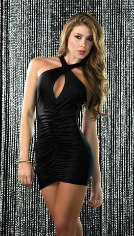 Criss-Cross Mini Dress - Pole Beauties and Beasts