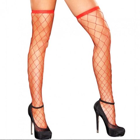 Diamond Net Thigh High - Pole Beauties and Beasts