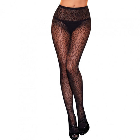 Leopard Print Stockings - Pole Beauties and Beasts