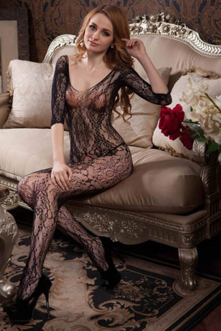 Captivating Fishnet Body Stocking - Pole Beauties and Beasts