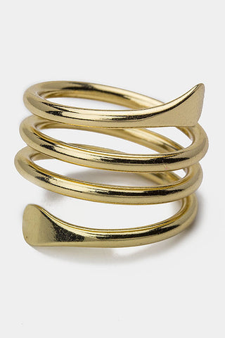 Spiral Fashion Ring