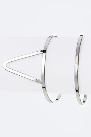 Geo Cutout Open Cuff - Pole Beauties and Beasts