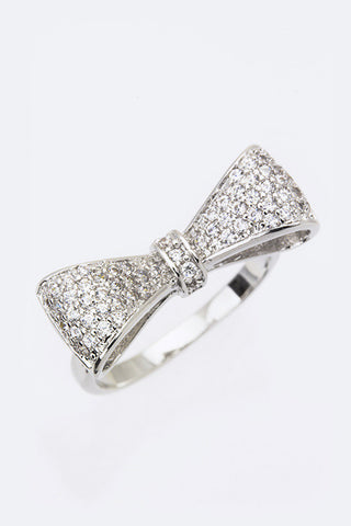 Bow Tie Fashion Ring - Pole Beauties and Beasts