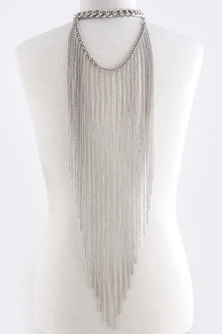 Fringe Body Chain Necklace Set - Pole Beauties and Beasts