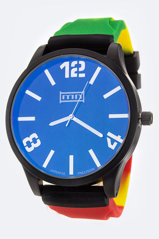 Unisex Opal Glass Iconic Fashion Watch