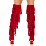 "6"" Thigh High Fringe - Pole Beauties and Beasts"