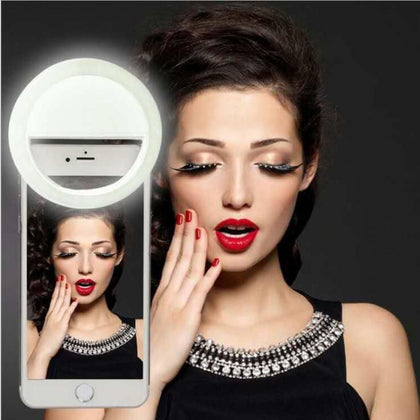 Light Up Selfie Luminous Phone Ring