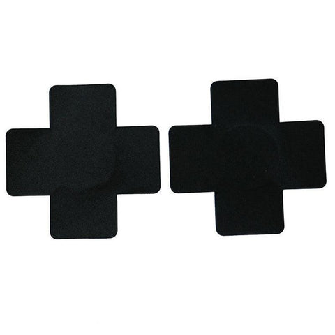 Cross Shaped Satin Stickers