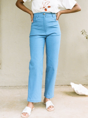 The Beattie Jean in Guy Mitchell Blue