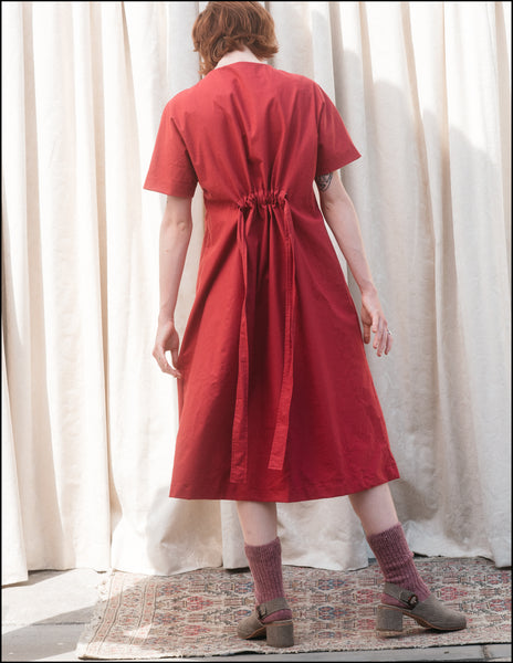 Margie Tee Dress in Ruby