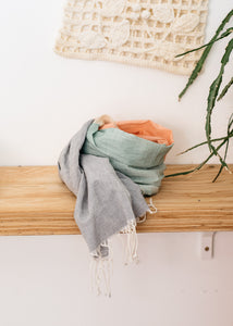 Hand Loomed Cotton Scarf